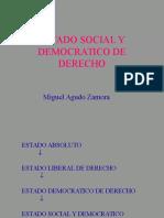 Estado Social Democratico Derecho