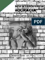 García Calvo, Agustín - Apuntes Para La Conferencia DEMOCRACIA [Anarquismo en PDF]