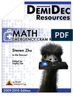 Math Cram Kit