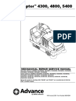 Captor Mechanical Repair Service Manual