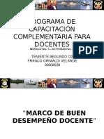 Módulo3-Actividad 3- Marco Del Buen Desempeño Docente