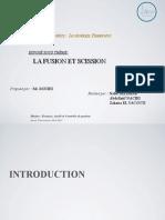 Exposé Fusion & Scission