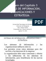 resumendelcaptulo3sistemasdeinformacionorganizacionesyestrategia-160816213953.pptx