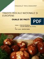 Tradi_ii Pascale Na_ionale _i Europene