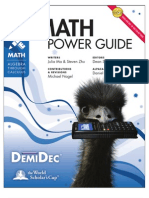 Math Power Guide
