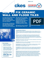 Wickes How to Lay Ceramic Tiles