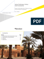 Presentation of the Scenario Analysis of Residential Housing Policy in Iraq
