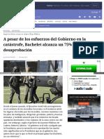 Www Elmostrador Cl Noticias Pais 2017-01-29 Cadem Bachelet A