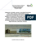 Identidad Institucional Uem. Rómulo Betancourt. Alba Carvajal