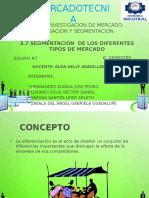 DIFERENTES TIPOS DE MERCADO