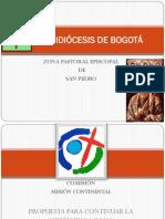 ZPastoral San Pedro - Bogotá - Presentación Misión Continental