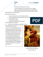 Romeo and Juliet - Worksheet