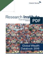2016 Credit Suisse Manual Sobre Riqueza Global