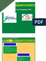 2016 OVS Encuesta Nacional de Hospitales 2016