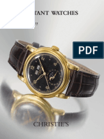 Important Watches (Christie's) 9. 11. 2015.