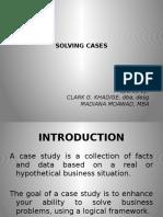 Solving Cases