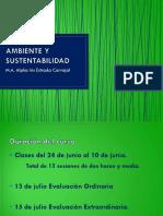 Presentacion Ambiente y Sustentabilidad
