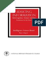 Intelligence Science Board 2006