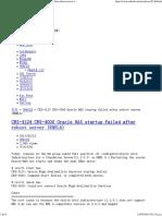 Oracle Database 11g R2 + asm si ocurre error