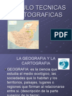 Antecedentes de La Cartografía