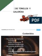 Avance de Tunels y Galerias