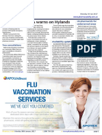 Pharmacy Daily for Mon 30 Jan 2017 - FDA warns on Hylands, US pharmacists for underserved areas, CW marks Chinese NY, Weekly Comment and much more