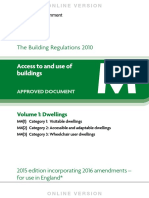 Approved Document M 2016 Volume 1