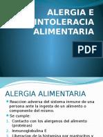 Alergia e Intoleracia Alimentaria