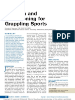 Strength and Conditioning for Grappling Sports.4