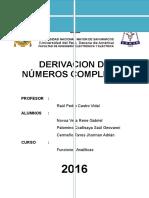 3°-Derivacion Compleja