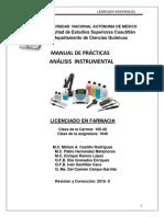 Manual de Practicas Instrumental Farmacia