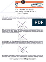 Microeconomia 8vo. 1er Parcial 2015 Parte Practica