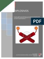 Trabajo de Perforacion y Voladura (Explosivos)