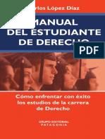 Manual Del Estudiante de Derecho. Como e