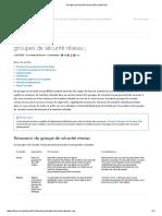 Groupes de Sécurité Réseau _ Microsoft Docs