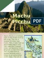 Machu Picchu Show