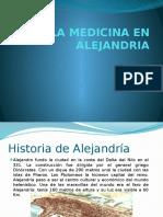 La Medicina en Alejandria