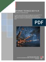 Equipos de Perforacion y Voladura de Rocas (Informe Tecnico)