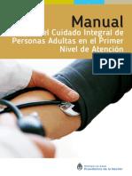 Manual para el Cuidado Integral de PErsonas Adultas en el Primer Nivel de Atencion