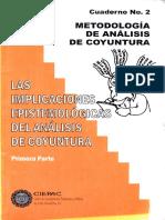 Metodología de Análisis de Coyuntura [Cuad. No. 02]