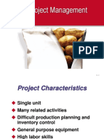 Scheduling Project Management