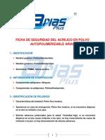 Ficha Seguridad Acrilico Autopolimerizable
