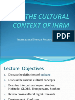 IHRM - Lecture 2 Cultural Context.sv1