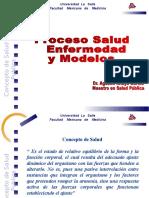 Proceso Salud Enfermedad y Modelos