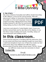 Meet Miss Donnelly