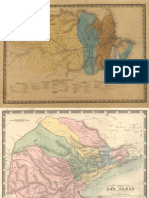 Carta Topografica e Administrativa Dos Estados Brasileiros-1830