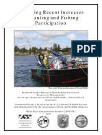 Hunting and Fishing Participation Report 2013