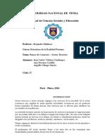 Estructura Enonómica Del Peru