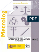 Di-001 Calibracion Proyectores de Perfiles 2