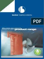 Becker Product Brochure